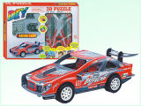 Friction Car Toys Intelligent 3D Puzzle (H4551135)