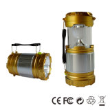Mini Folding Rechargeable LED Solar Lantern with Mobile Phone Charger