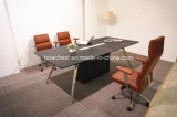 Modern Leather MDF Office Conference Table (E9)