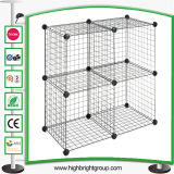 Four Storage Cubes Stacking Wire Cube