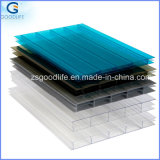 Top Selling Greenhouse Twin Wall 4mm Hollow Polycarbonate Sheet