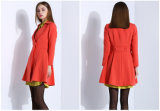 New Design Women Clothes Long Ladies Cotton Coat