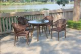 New Arrival Garden Furniture Rattan Wicker Dining Set (DS-15598)