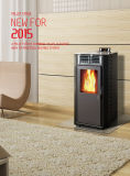 Biomass Moulding Fuel Fireplace with CE