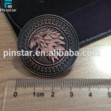 Factory Directly Wholesale High Quality Custom Souvenir Game of Thrones Stark Direwolf Shield Pin Lapel Metal Badges
