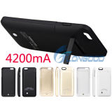 New 4200mA Portable Rechargeable Power Bank Battery Charger for Mobile Phone Case with Stand FOr iPhone6 Plus