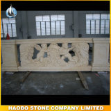 Wetern Design Beige Marble Natural Stone Baluster