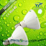 360lm 560lm 660lm 770lm 1050lm 7*10W LED Flat PAR Light