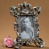 European Vintage Resin Frame with Crown