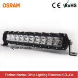 30W 7.6inch Single Row Osram LED Light Bar for off-Road Vehicles (GT3530-30W)