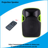 Plastic 12 Inches Active Speaker with LED Projector and Screen