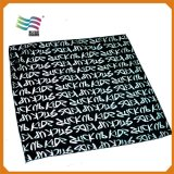 Customize Digital Printing Logo & Pattern Satin Scarf for Lady (HYS-AF009)