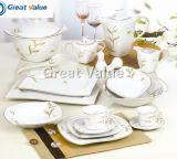Cheap European China Us Melamine Plastic Restaurant Safe Round Square Modern Home Food Set Dish Dishware Dinner Plate Set Cup Bowl Tray Tableware Dinnerware
