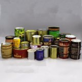 Coffee Caddy Food Tin Cans