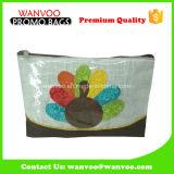 Popular Plastic PVC Fashion Travel Cosmetic Bag Purse Organizer