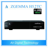 New Zgemma Box Satellite + Twin Terrestrial/Cable TV Box Combo DVB S2 + DVB T2/C + DVB T2/C Zgemma H5.2tc