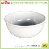 Solid White Restaurant Use Plastic Melamine Soup Bowl
