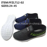 Women Slip-on Canvas Shoes Injection Leisure Footwear Shoes (FFZL712-02)