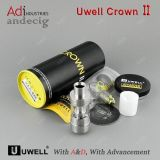 2016 Newest Uwell Crown 2 Tank for Four Color Silver, Black, Coffee and Iridescent Black Crown II