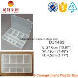 9 Compartment Organized Clear Box