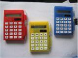 Solar Notepad Calculator with Pen
