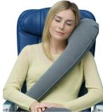 Ergonomic Travel Pillow for Neck Side Sleepers Cushion for Airplane Train Car Camping