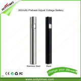 Fashion Style E-Cigarette Slim 300mAh Preheat Adjustable Voltage 510 Battery