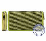 Customized Brand Logo Mens Leather Long Wallet Handmade Wallet Custom Logo