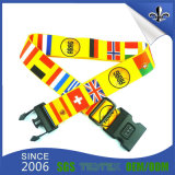 Custom Cheapest Sublimation Polyester Luggage Belt Strap