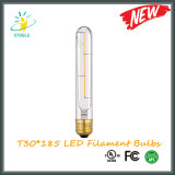 Antique Vintage LED Filament Edison Bulb T30 Length 185mm