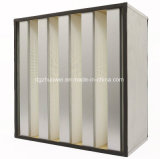 Hot Selling V Bank HEPA Air Filter Price