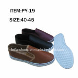 Men Casual Shoes Injection Canvas Shoes with Customized (FFPY-19)