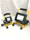 Portable 10W Driverless Floodlight with Stand and Handle