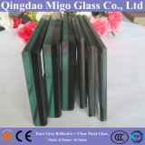 Euro Grey Reflective+Clear Float Glass / Colored Laminated Safety Glass