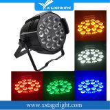 Indoor 18*15W RGBWA 5in1 Stage Wash DMX LED PAR Light