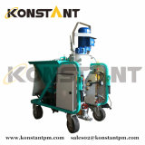 Automactic Three Phase Mortar Plastering Machine for Dry Powder Materials Dosing Mixing Pumping Spraying