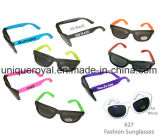 Fashion Sunglasses with Neon Temples