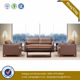 Modern Office Furniture Genuine Leather Couch Office Sofa (HX-CF022)