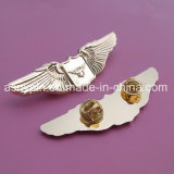 Custom Gold Pilot Wing Badges
