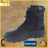 Black Genuine Leather Cheap Quickwear Police Uniform Shoes