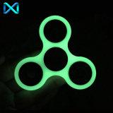 Luminous Tri Fidget Ceramic Ball Desk Toy EDC Stocking Stuffer Hand Spinner