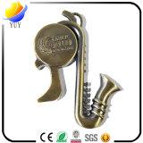 Antique Bronze Musical Instruments Shape Metal Bottle Opener