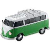 Bus Car Model Bluetooth Speaker System with Radio USB TF Card Music Player