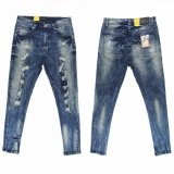 Men′s Fashion High Stardard Wshing Jeans (MYB02)