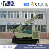 Hf180y Gold Mining Equipment, Air DTH Water Well Drilling Rig