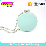 Fashion Round Memorial Photo Setting Locket Pendant Necklace