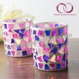 Mosaic Glass Jar Mosaic Candle Holder for Home Decoration Candle Jars Wholesale