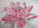 Crystal Lotus Candle Holder (JDH-048)