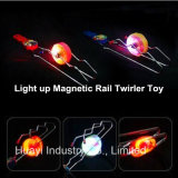Light up Magnetic Rail Twirler Kids Toy Wholesale
