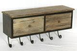 Chinese Old Wood Furniture Antique Living Room Bedside Cabinet